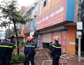 Hà Nội: Cháy cửa hàng trên đường Tố Hữu