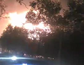 Giận người thân không cho tiền, đốt đống củi gây ra vụ cháy kinh hoàng