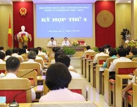 Ô nhiễm môi trường làm nóng phiên chất vấn Chủ tịch Khánh Hòa