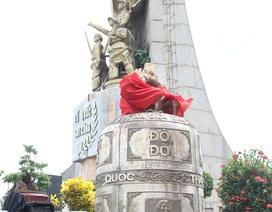 Đúc Đại hồng chung nặng gần 2 tấn đặt tại nghĩa trang liệt sĩ
