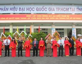 Thành lập Phân hiệu Đại học Quốc gia TPHCM tại tỉnh Bến Tre