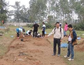 Thám sát, nghiên cứu khảo cổ học khu vực đền Huyện