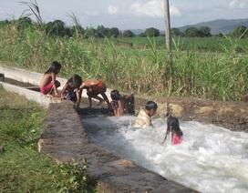 Báo động tình trạng đuối nước tập thể ở trẻ em
