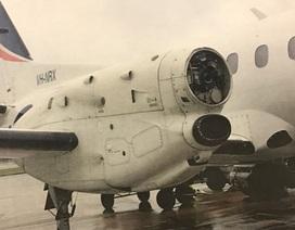 Hú hồn máy bay rơi cả cánh quạt khi đang bay