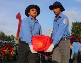 An Giang: Cải táng 168 hài cốt liệt sĩ qua các thời kỳ chiến tranh