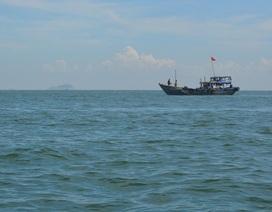 8 tàu cùng hơn 40 người tìm kiếm một ngư dân mất tích