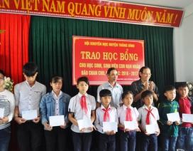 Quảng Nam: Trao 105 suất học bổng Chan Chu