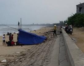 Tìm thấy thi thể ngư dân mất tích do lật thuyền trên biển