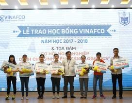 Lễ trao học bổng Vinafco và Tọa đàm cơ hội nghề nghiệp dành cho sinh viên ngành Logistics