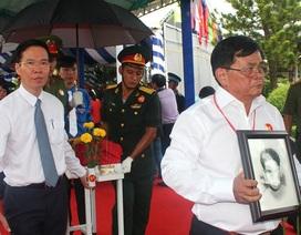 Hàng trăm hài cốt liệt sĩ ở sân bay Biên Hòa được an táng chung mộ