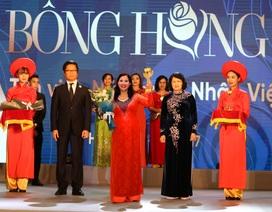 Cúp Bông hồng Vàng tôn vinh 100 nữ doanh nhân Việt Nam tiêu biểu