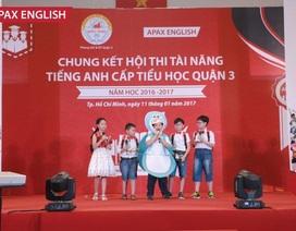 Chung kết đầy ý nghĩa của Hội thi Tài năng tiếng Anh cấp tiểu học quận 3