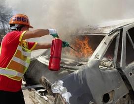 """Hơn 100 đơn vị cứu hộ giao thông cùng """"giải cứu một vụ tai nạn"""""""