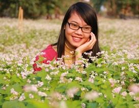 Vườn tam giác mạch Ninh Bình hút bạn trẻ dịp lễ Tình nhân