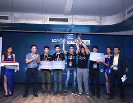 TOPICA AI Edtech Asia Hackathon 2017: Khi AI len lỏi vào từng ngách cuộc sống