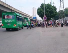Hà Nội: Xe khách tiếp tục đón trả khách trái phép dịp nghỉ lễ