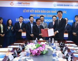 LienVietPostBank ký kết biên bản ghi nhớ hợp tác với Woori Bank Việt Nam