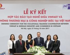VINFAST và Phòng thương mại và Công nghiệp Đức hợp tác đào tạo cơ khí
