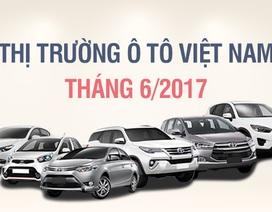 Tháng 6/2017: Thương hiệu nào bán nhiều xe nhất Việt Nam?