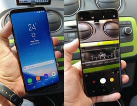 Loạt ảnh thực tế rõ nét Galaxy S8+ tiếp tục bị rò rỉ