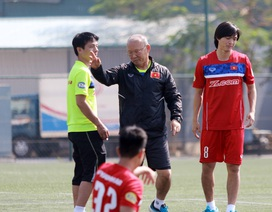 Không có trợ lý ngôn ngữ, tuyển thủ U23 Việt Nam gặp khó khăn