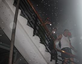 3 người chạy thoát khỏi căn nhà cháy ở Phú Yên lúc chập tối