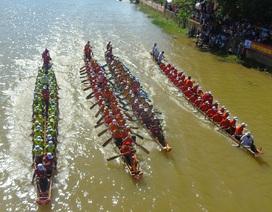 Quảng Bình: Rộn ràng đón Tết độc lập với lễ hội đua thuyền