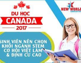 Sinh viên Việt Nam du học Canada nên chọn khối ngành STEM – cơ hội việc làm và định cư cao