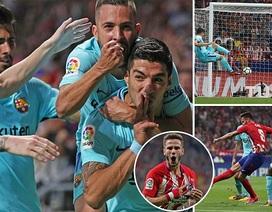 Những khoảnh khắc Messi bất lực trước Atletico tại Metropolitano