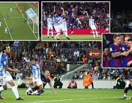 Hạ gục Malaga, Barcelona bỏ xa Real Madrid 8 điểm