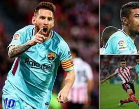 Bilbao 0-2 Barcelona: Messi chói sáng