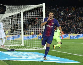 "Luis Suarez chói sáng, Barcelona ""vùi dập"" Deportivo"