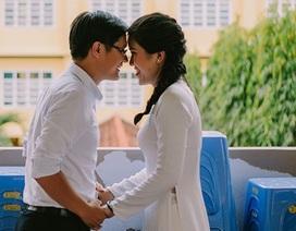 Cặp đôi chụp ảnh cưới tái hiện kỉ niệm thời sinh viên