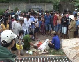 Cổng UBND xã đổ đè chết một học sinh