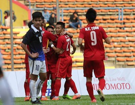 U22 Việt Nam 4-1 U22 Campuchia: Cú đúp của Công Phượng