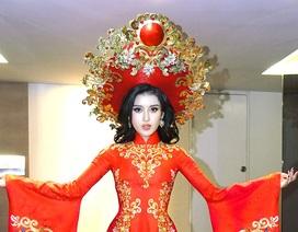 Hé lộ trang phục dân tộc của Huyền My tại Hoa hậu Hòa bình thế giới