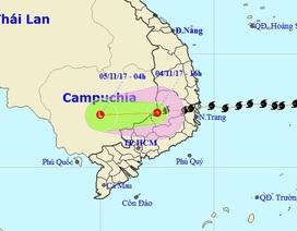 Bão số 12 suy yếu thành áp thấp, nhiều tỉnh miền Trung mưa rất to