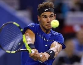 Nadal tăng tốc ngay ở vòng đầu Thượng Hải Masters