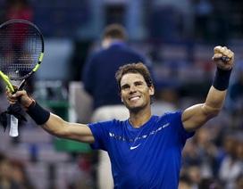 Thắng dễ Fognini, Nadal tiếp tục thăng hoa ở Thượng Hải Masters