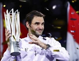 Đánh bại Nadal, Federer đăng quang ở Thượng Hải Masters