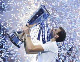 """Đánh bại """"hiện tượng"""" Goffin, Dimitrov vô địch ATP Finals"""