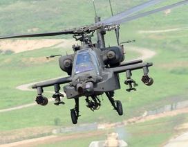 """Mỹ, Hàn điều """"chim sắt"""" Apache đối phó lính đặc nhiệm Triều Tiên"""