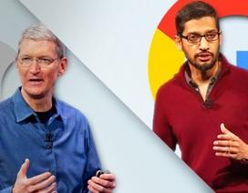 """Apple và Google - tên tuổi nào """"cao giá"""" hơn?"""