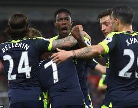 Thắng Southampton, Arsenal vượt qua MU trên bảng xếp hạng