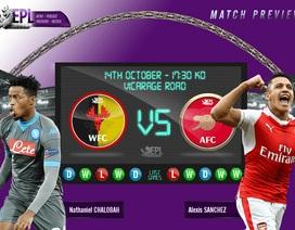Arsenal có hóa giải được cơn ác mộng trên sân khách?