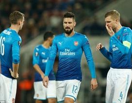 Arsenal bất ngờ thúc thủ ở Europa League