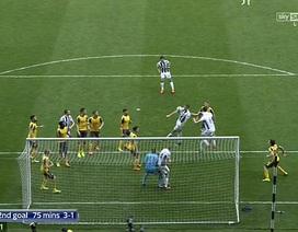 Tình huống 9 cầu thủ Arsenal đứng nhìn West Brom ghi bàn