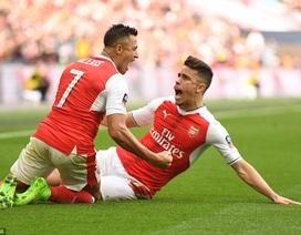 Sanchez tỏa sáng ở hiệp phụ, Arsenal vượt qua Man City