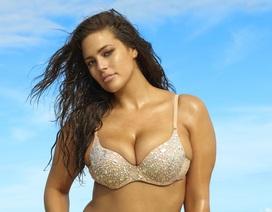 Siêu mẫu béo thừa nhận từng bị lạm dụng lúc 17 tuổi