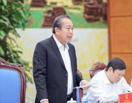 Phó Thủ tướng nhắc nhở Chủ tịch 8 tỉnh, thành tăng số người chết vì TNGT